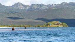 Kamchatka beer en onze chalet